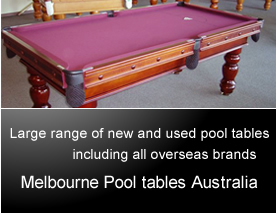 Melbourne Briarwood Pool Table